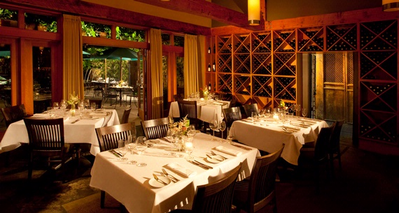 Barking Frog Restaurant at Willows Lodge